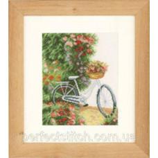 PN-0147006 Набор для вышивки крестом LanArte My bicycle Мой велосипед