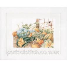 PN-0147538 Набор для вышивки крестом LanArte Pumpkins Тыквы