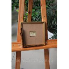 Рамка со стеклом Коричневый мрамор