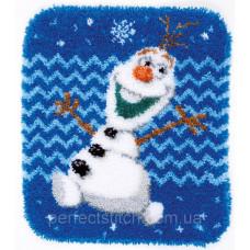 Набор для вышивания коврика Vervaco Disney Frozen Olaf