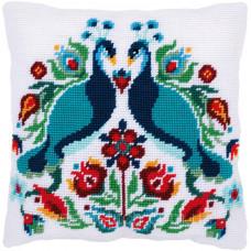 Набор для вышивания гобеленовой подушки Vervaco Pauline