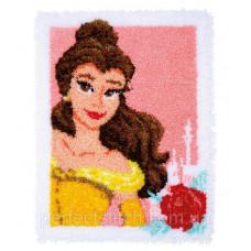 Набор для вышивания коврика Vervaco Disney Enchanted Beauty Princess Bella