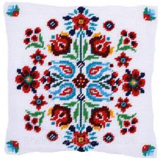 Набор для вышивания гобеленовой подушки Vervaco Folklore