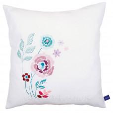 PN-0154585 Набор для вышивания гладью (подушка) Vervaco Современные цветы II