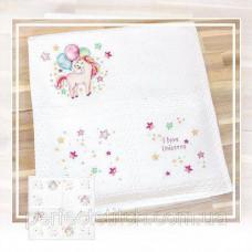 Набор для вышивки детского одеяла BO103
