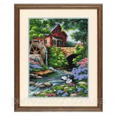 02484 Дом у мельницы Набор для вышивания (гобелен) DIMENSIONS