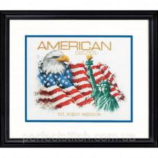 Набор для вышивки крестом DIMENSIONS Американский патриот