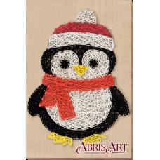 Набор стринг-арт Пингвиненок