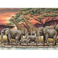 Набор для вышивания Африканский закат ANCHOR MAIA