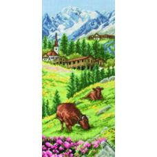 Набор для вышивания Альпийский пейзаж ANCHOR