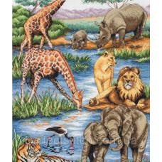 Набор для вышивания Африканская дикая природа ANCHOR MAIA
