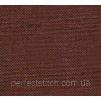 Ткань равномерная 065/96 Dark Chocolate (100% ЛЕН) 140см Permin