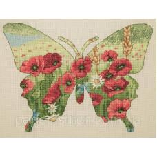 Набор для вышивания Cилуэт бабочкы ANCHOR MAIA