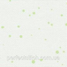 3793/1359 Fein-Aida Splash 18 молочный с зелеными брызгами