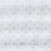 3706/4229 Stern-Aida14 Белый в розовый горошек