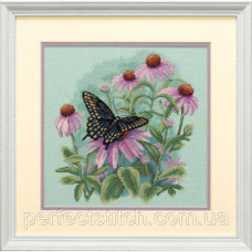 Набор для вышивки крестом DIMENSIONS Бабочка и ромашки