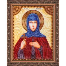 Набор для вышивки бисером именной иконы  «Святая Анна»