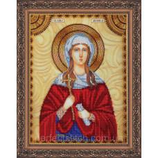 Набор для вышивки бисером именной иконы  «Святая Анфиса»