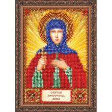 Набор для вышивки бисером именной мини-иконы «Святая Анна»