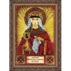 Набор для вышивки бисером именной мини-иконы «Святая Варвара»
