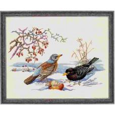 """12-543 Набор для вышивания """"Птицы (Birds)"""" Eva Rosenstand"""