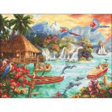 Набор для вышивания LETISTITCH Island Life