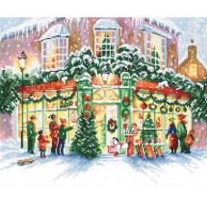Набор для вышивания LETISTITCH Christmas Shop