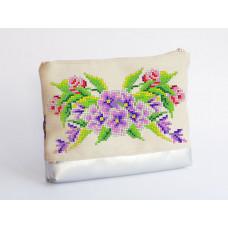 Косметичка под вышивку Букет полевых цветов
